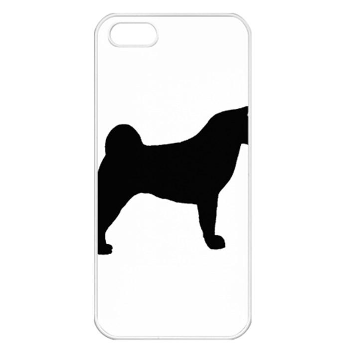 Akita Silo2 Apple iPhone 5 Seamless Case (White)