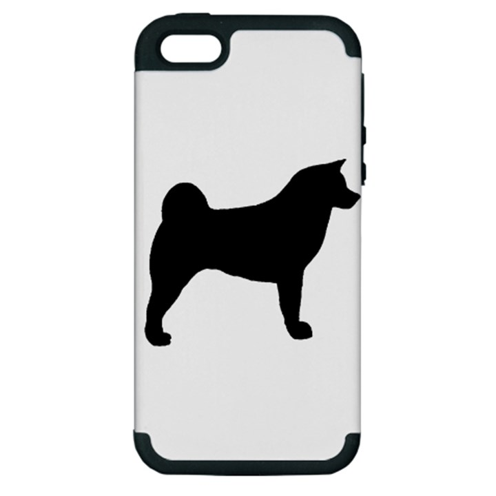 Akita Silo2 Apple iPhone 5 Hardshell Case (PC+Silicone)