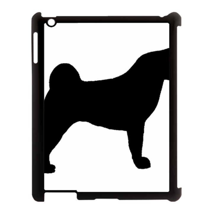 Akita Silo2 Apple iPad 3/4 Case (Black)