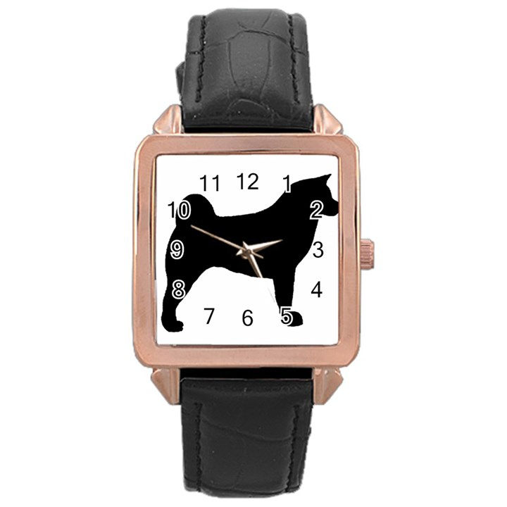 Akita Silo2 Rose Gold Leather Watch