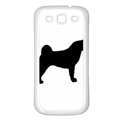 Akita Silo2 Samsung Galaxy S3 Back Case (White)