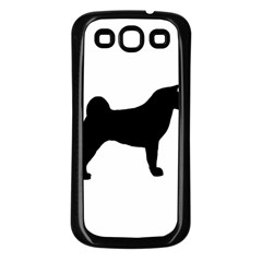 Akita Silo2 Samsung Galaxy S3 Back Case (Black)