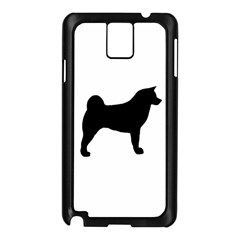Akita Silo2 Samsung Galaxy Note 3 N9005 Case (Black)