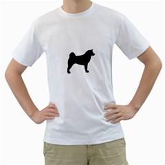 Akita Silo2 Men s T-Shirt (White)