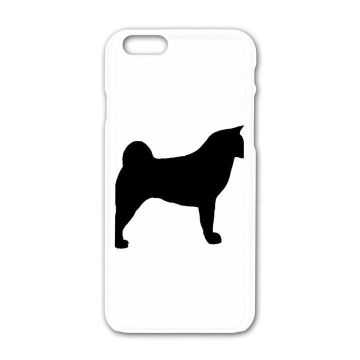 Akita Silo2 Apple iPhone 6/6S White Enamel Case