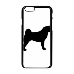 Akita Silo2 Apple iPhone 6/6S Black Enamel Case