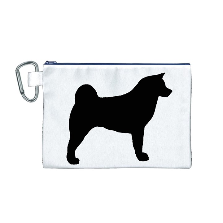 Akita Silo2 Canvas Cosmetic Bag (M)