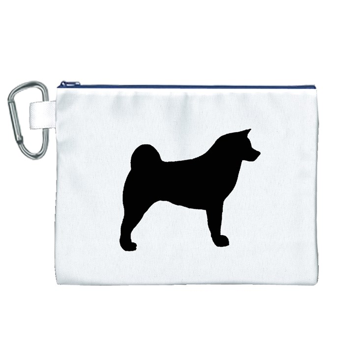 Akita Silo2 Canvas Cosmetic Bag (XL)