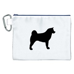 Akita Silo2 Canvas Cosmetic Bag (XXL)