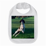 English Springer Catching Ball Bib Front