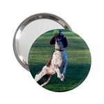 English Springer Catching Ball 2.25  Handbag Mirrors Front