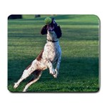 English Springer Catching Ball Large Mousepads Front