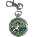 English Springer Catching Ball Key Chain Watches Front
