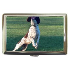English Springer Catching Ball Cigarette Money Cases