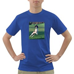 English Springer Catching Ball Dark T-Shirt