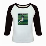 English Springer Catching Ball Kids Baseball Jerseys Front