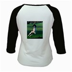 English Springer Catching Ball Kids Baseball Jerseys Back