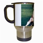 English Springer Catching Ball Travel Mugs (White) Left