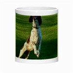 English Springer Catching Ball Night Luminous Mugs Center