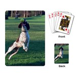 English Springer Catching Ball Playing Card Back