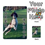 English Springer Catching Ball Playing Cards 54 Designs  Front - Joker1