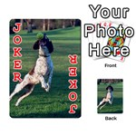 English Springer Catching Ball Playing Cards 54 Designs  Front - Joker2