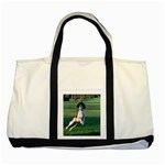 English Springer Catching Ball Two Tone Tote Bag Front