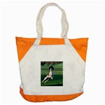 English Springer Catching Ball Accent Tote Bag Front