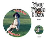 English Springer Catching Ball Playing Cards 54 (Round)  Front - Joker2