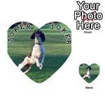 English Springer Catching Ball Playing Cards 54 (Heart)  Front - Joker1