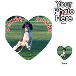 English Springer Catching Ball Playing Cards 54 (Heart)  Front - Joker2