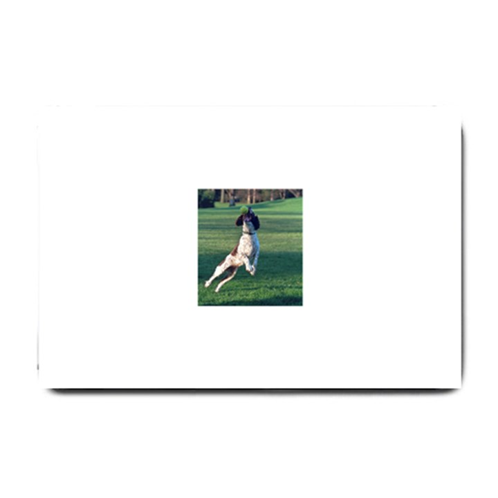 English Springer Catching Ball Small Doormat