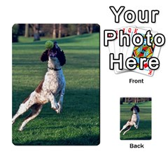 English Springer Catching Ball Multi-purpose Cards (Rectangle)