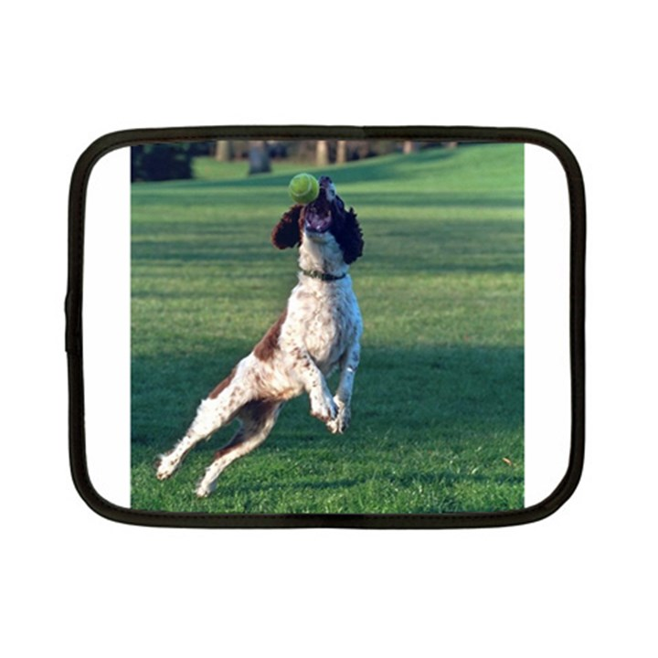 English Springer Catching Ball Netbook Case (Small)