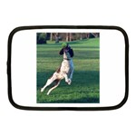 English Springer Catching Ball Netbook Case (Medium)  Front