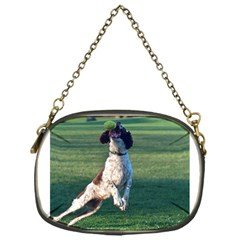 English Springer Catching Ball Chain Purses (One Side)