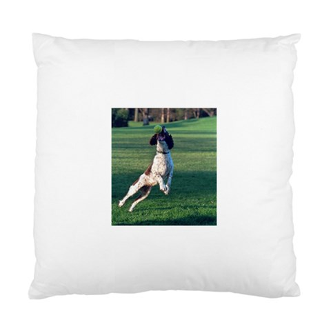 English Springer Catching Ball Standard Cushion Case (One Side)