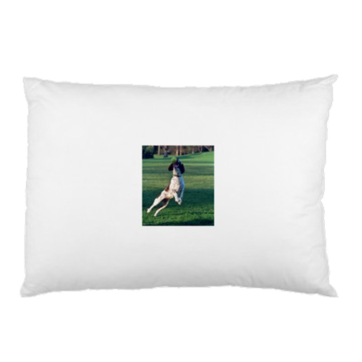 English Springer Catching Ball Pillow Case
