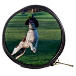 English Springer Catching Ball Mini Makeup Bags Front