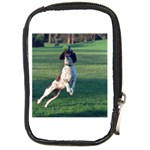 English Springer Catching Ball Compact Camera Cases Front