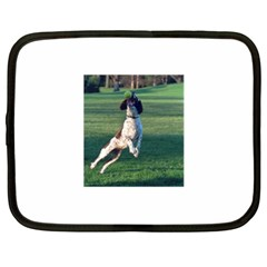 English Springer Catching Ball Netbook Case (XL)