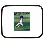 English Springer Catching Ball Netbook Case (XL)  Front