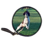 English Springer Catching Ball Classic 20-CD Wallets Front