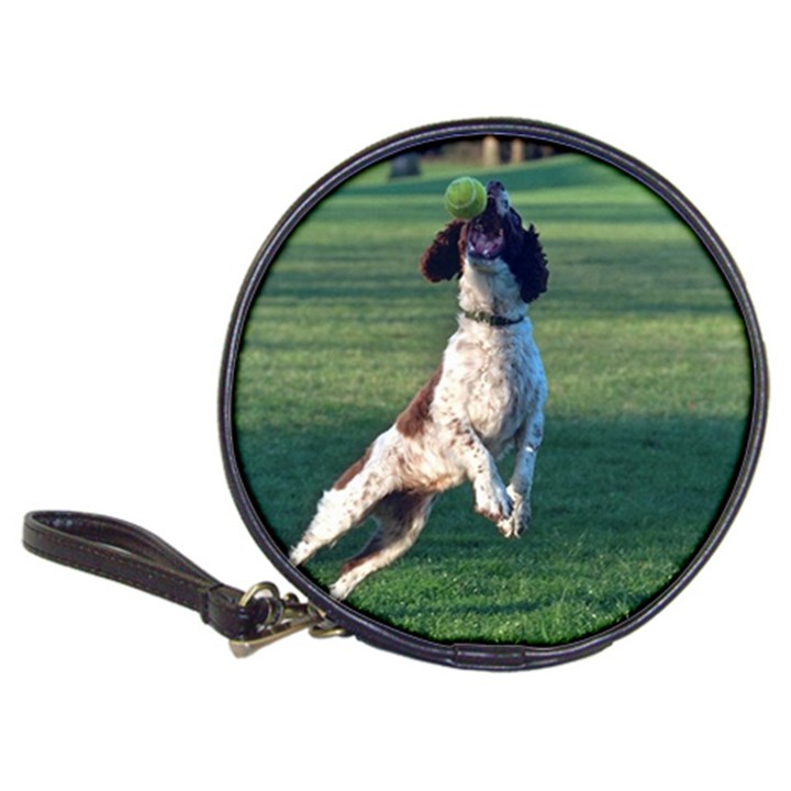 English Springer Catching Ball Classic 20-CD Wallets