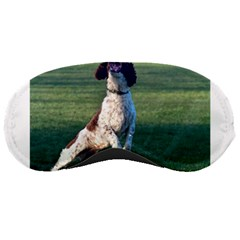 English Springer Catching Ball Sleeping Masks