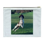 English Springer Catching Ball Cosmetic Bag (XL) Back