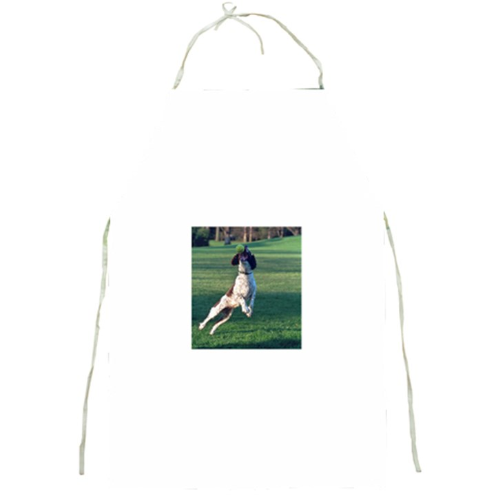 English Springer Catching Ball Full Print Aprons
