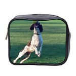 English Springer Catching Ball Mini Toiletries Bag 2-Side Front