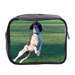 English Springer Catching Ball Mini Toiletries Bag 2-Side Back