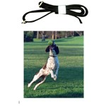 English Springer Catching Ball Shoulder Sling Bags Front